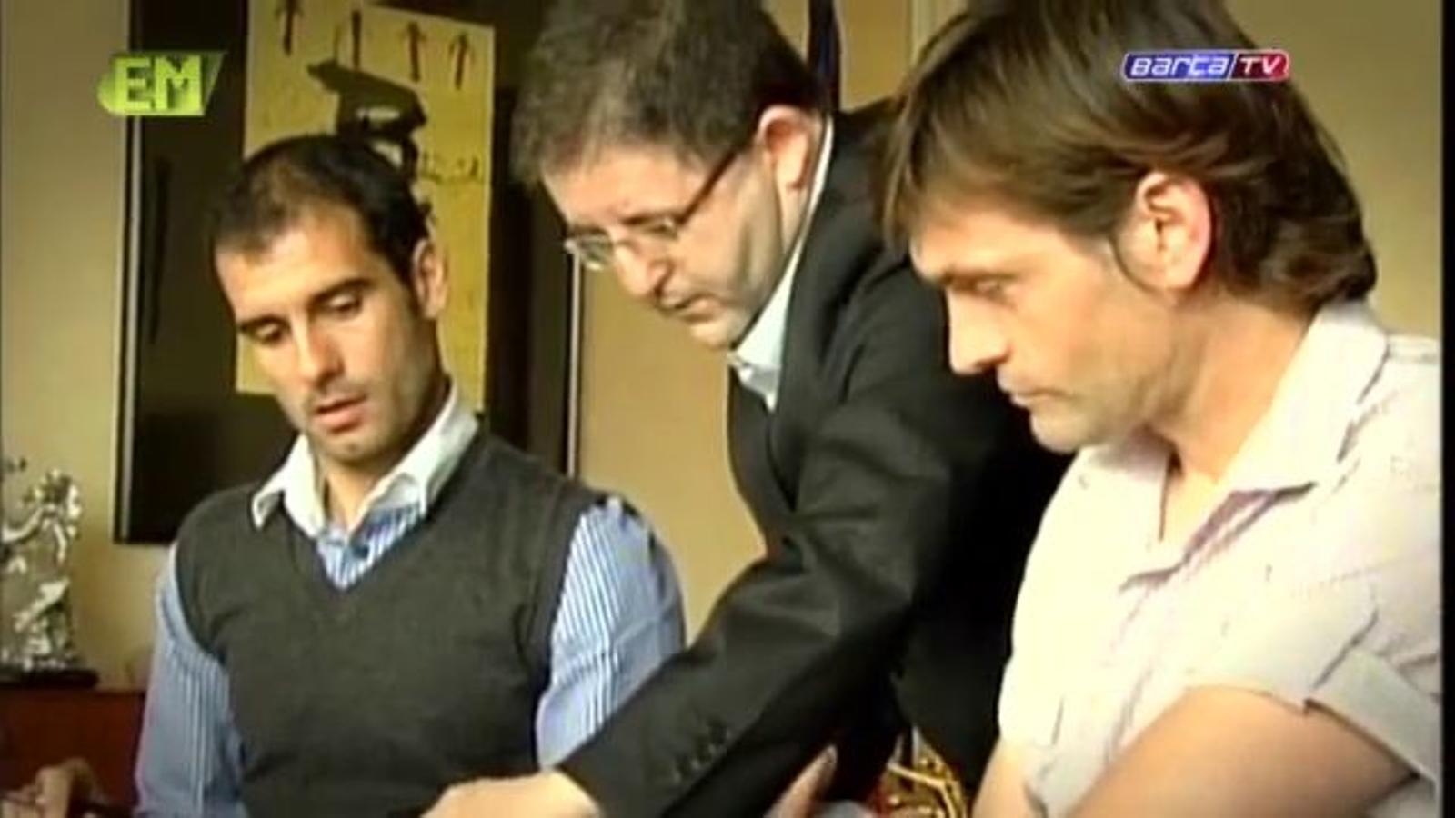 El Barça repassa en un vídeo els 4 anys de Guardiola al primer equip