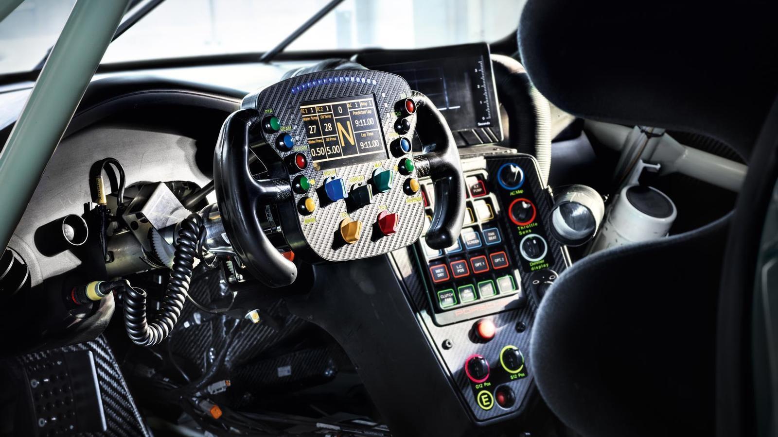Interior 911 RSR