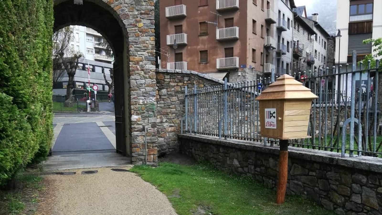 Està situat a l'entrada nord del parc del Prat Gran. / COMÚ D'ENCAMP