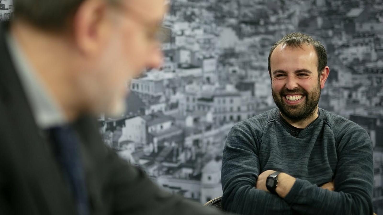 Entrevista d'Antoni Bassas al Peyu