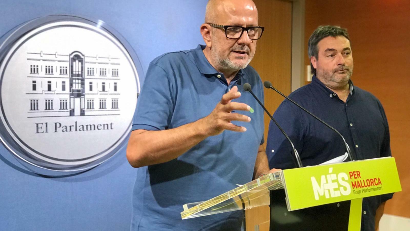 Miquel Ensenyat i Joan Mas