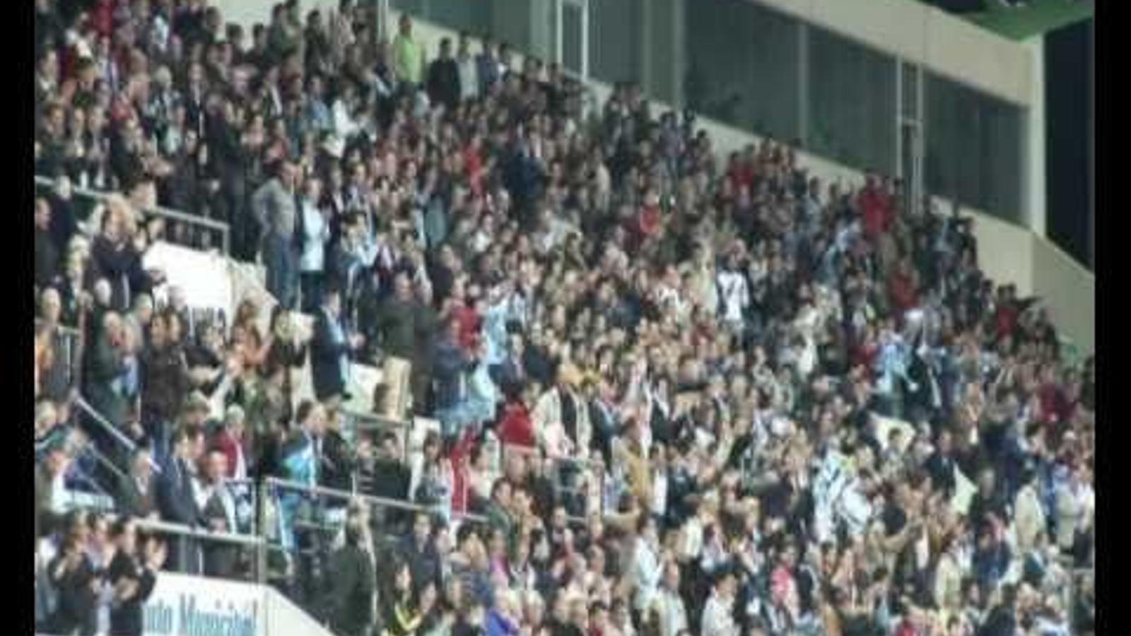Polideportivo Ejido 5 - Vila-real 0 (Copa del Rei)