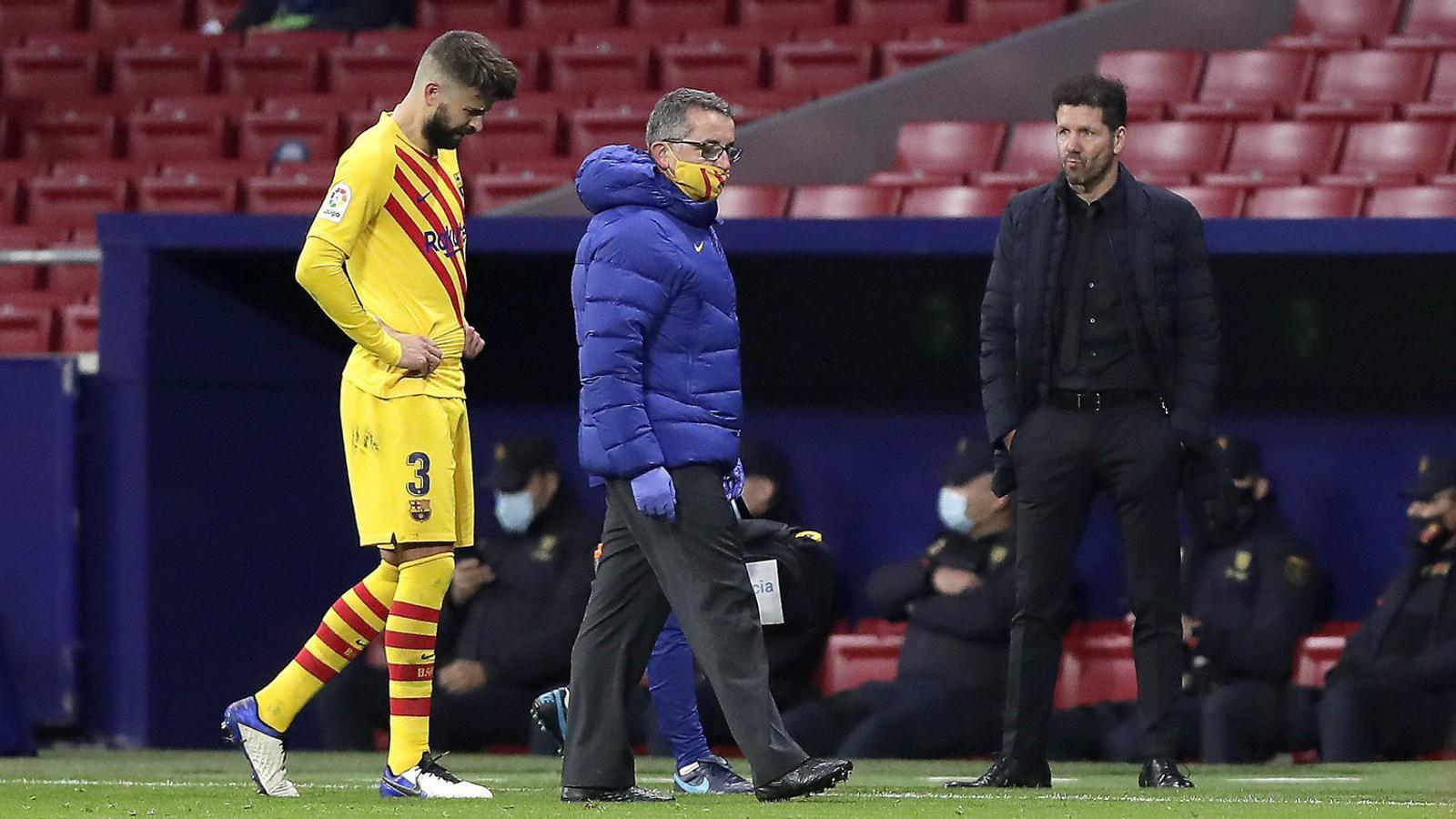 """""""Veig difícil que Piqué es recuperi abans de sis mesos"""""""