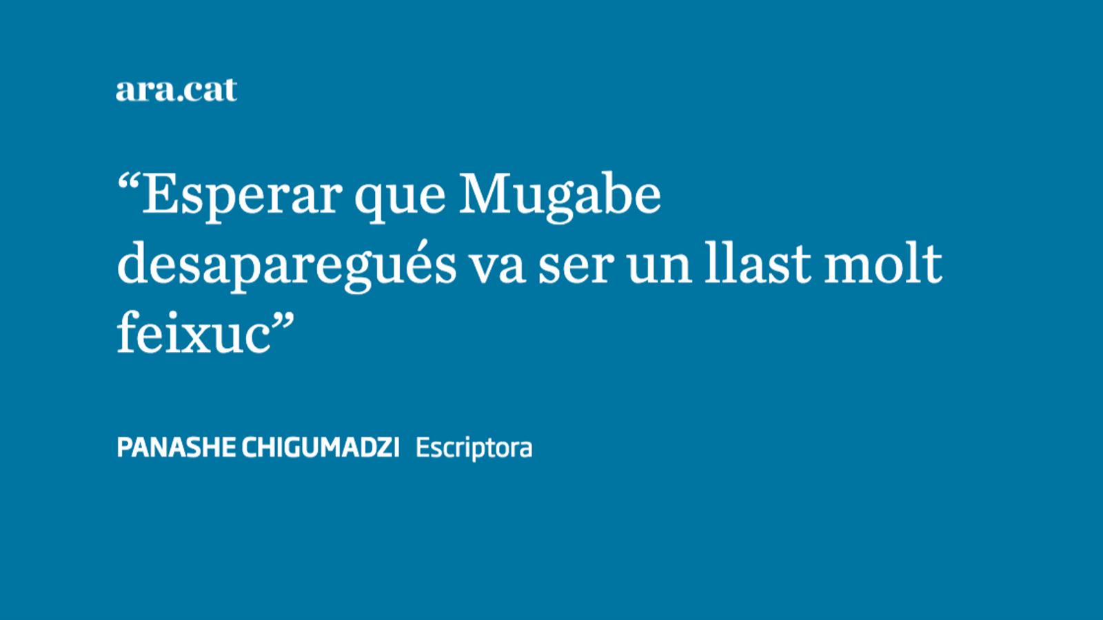 Mugabe ha mort, però la seva política perdura