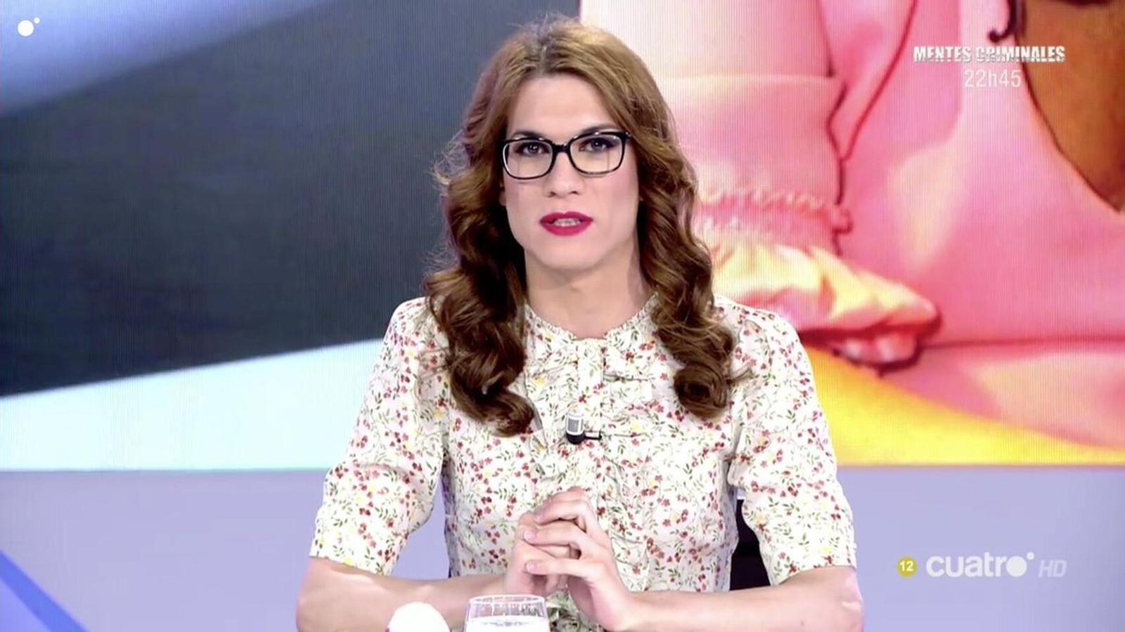 Elsa Ruiz quan era col·laboradora del programa 'Todo es mentira'