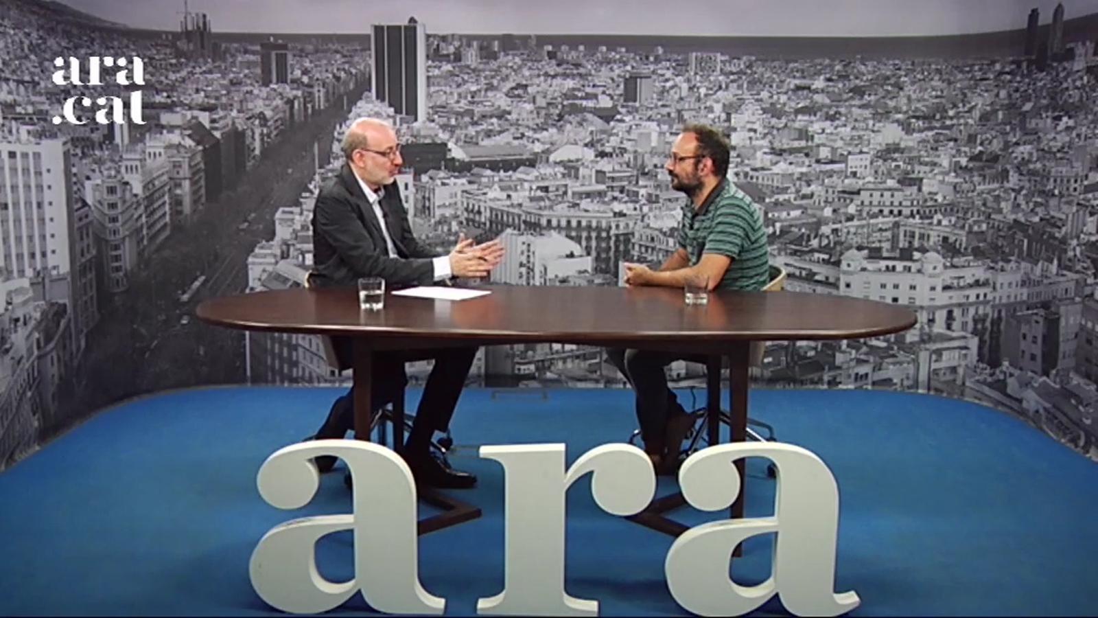 Entrevista d'Antoni Bassas a Benet Salellas