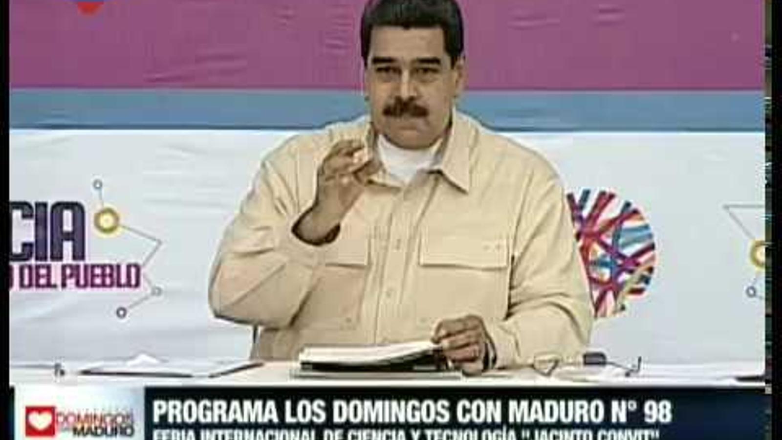 Maduro anuncia la criptomoneda, el petro.