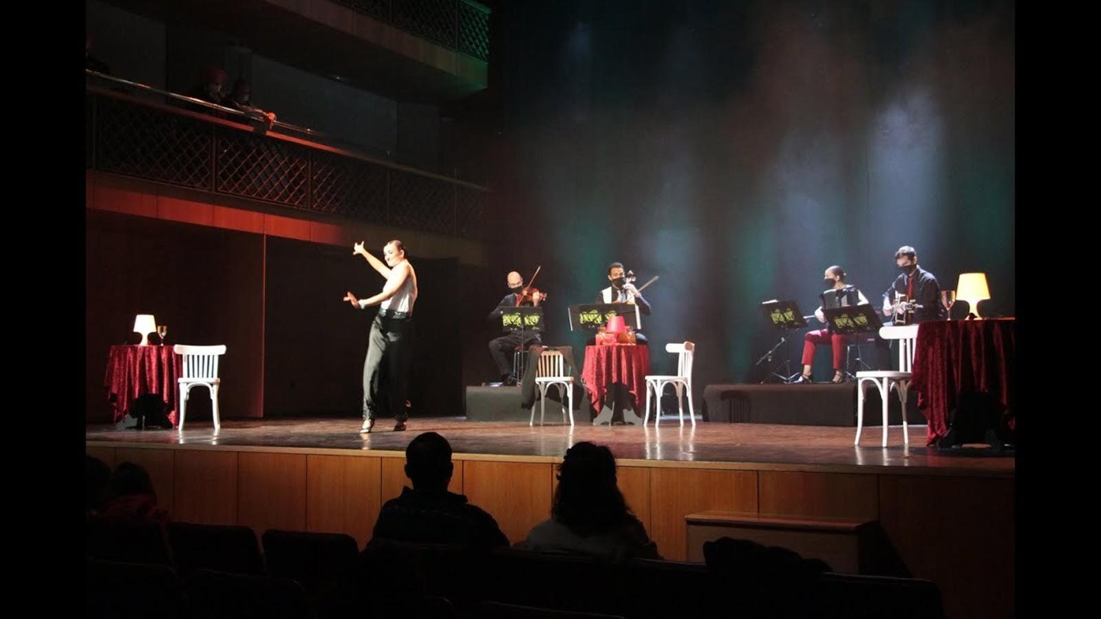 'Passió i tangos', a l'Auditori Nacional