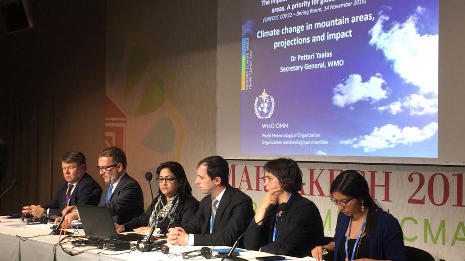 Un acte sobre l'impacte del canvi climàtic. / ARXIU ANA