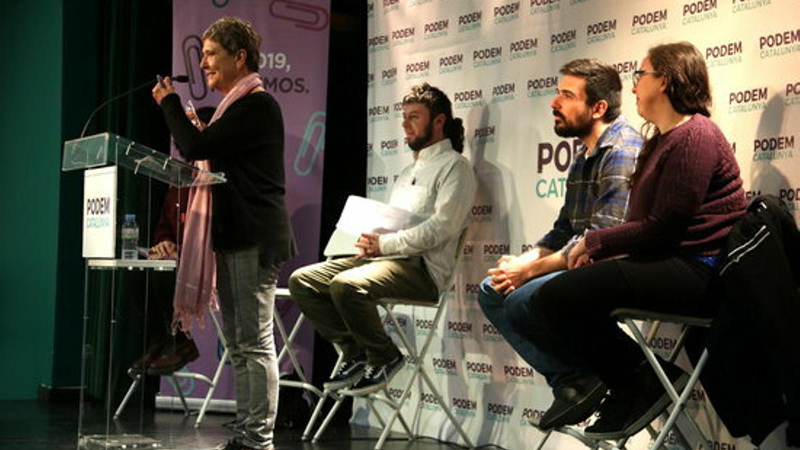 Rosa Cañadell encapçalarà la gestora de Podem a Catalunya