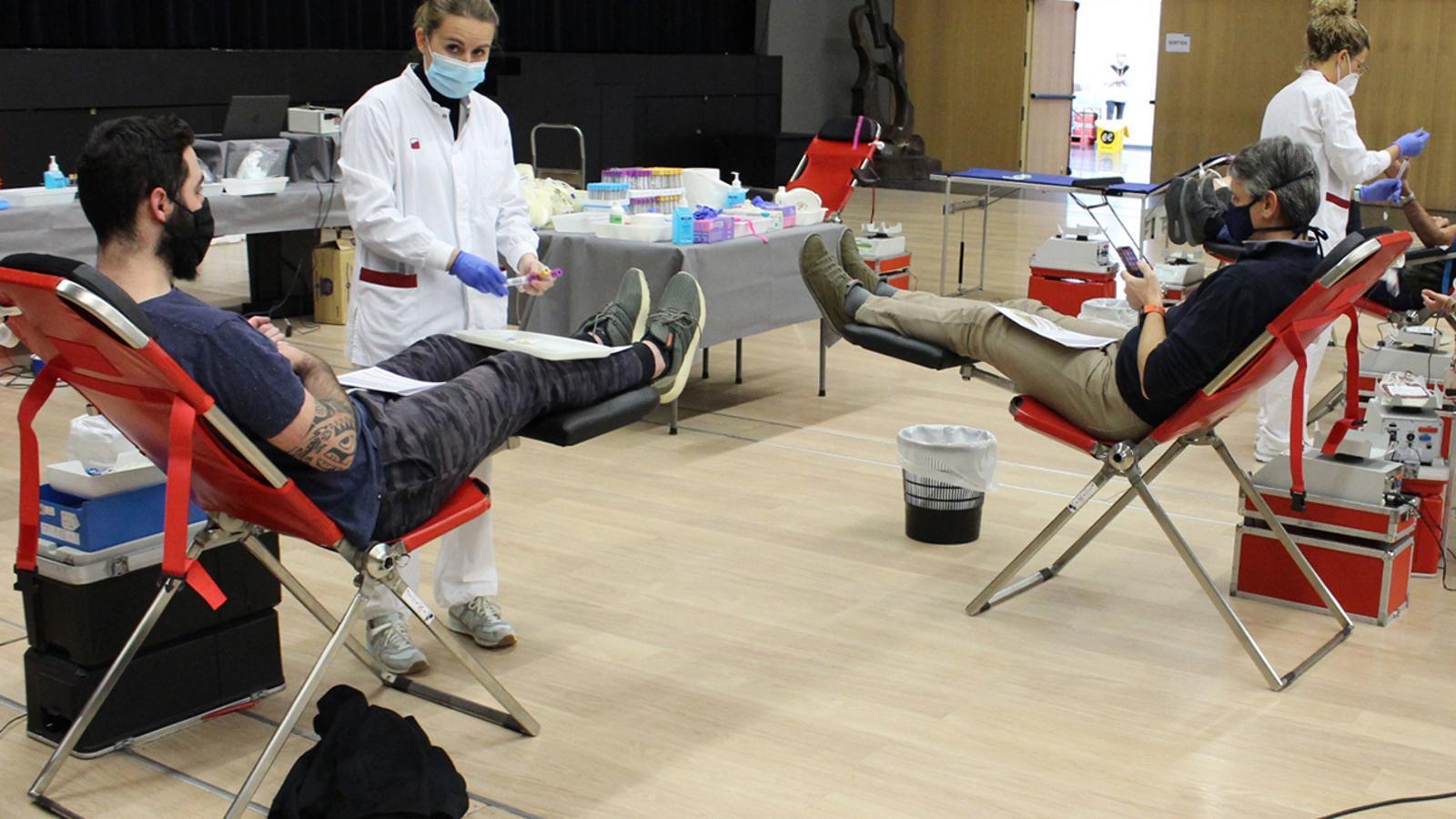 Les donacions de sang d'aquesta setmana. / Creu Roja