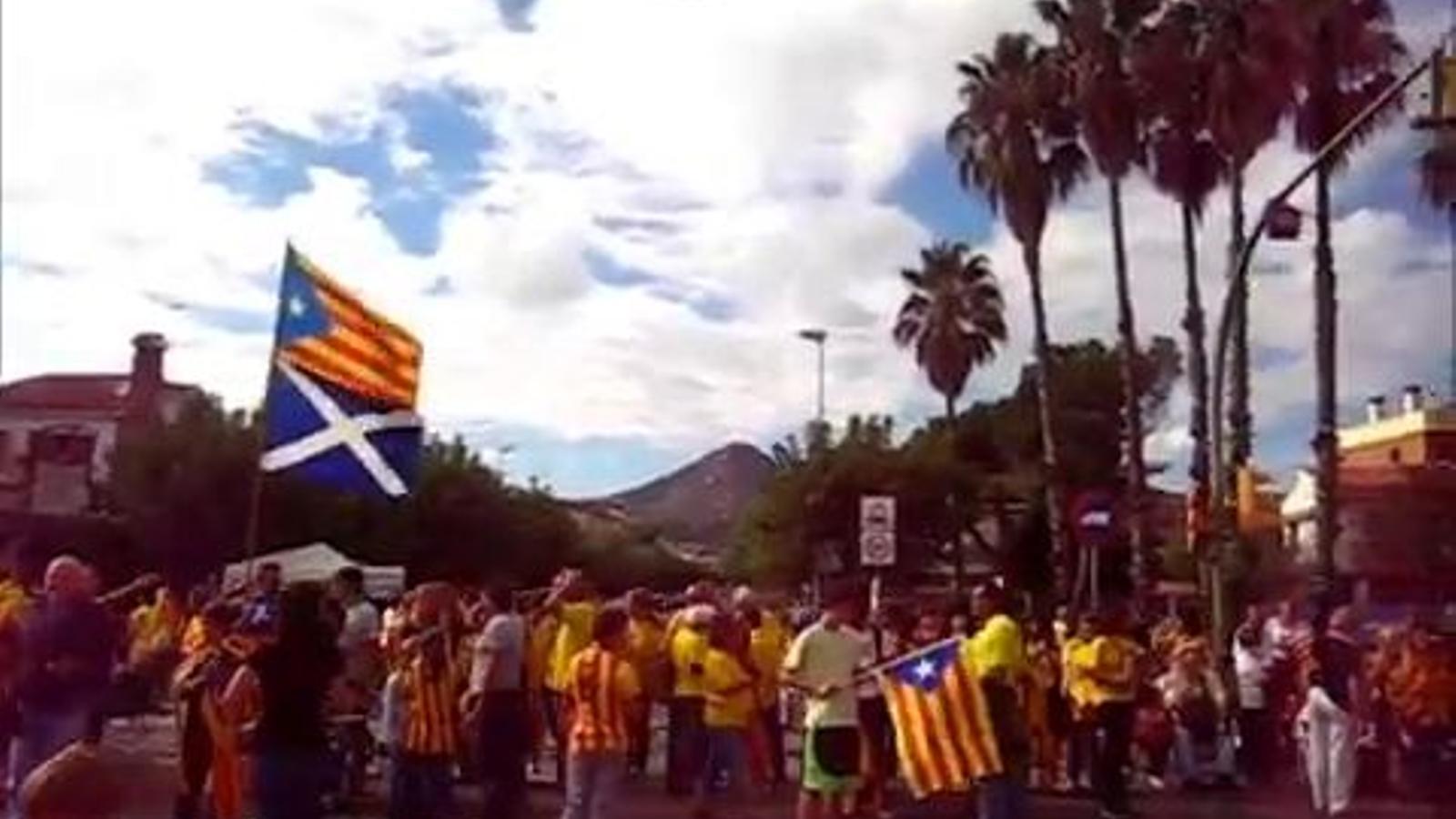 El meu tram, la Via Catalana a Cabrera de Mar