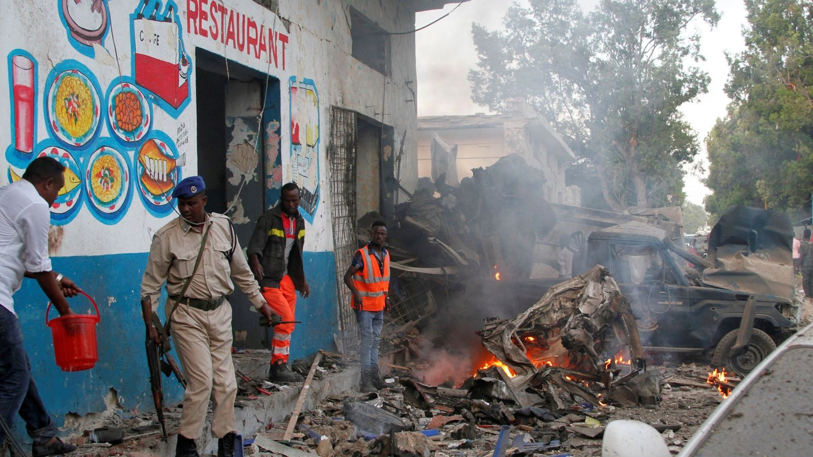 Un nou atemptat a Somàlia provoca la mort d'almenys 18 policies