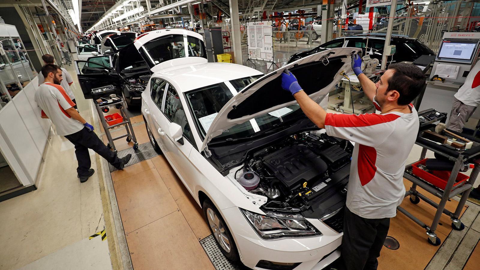 Seat fabricarà 6.000 cotxes més dels previstos aquest any