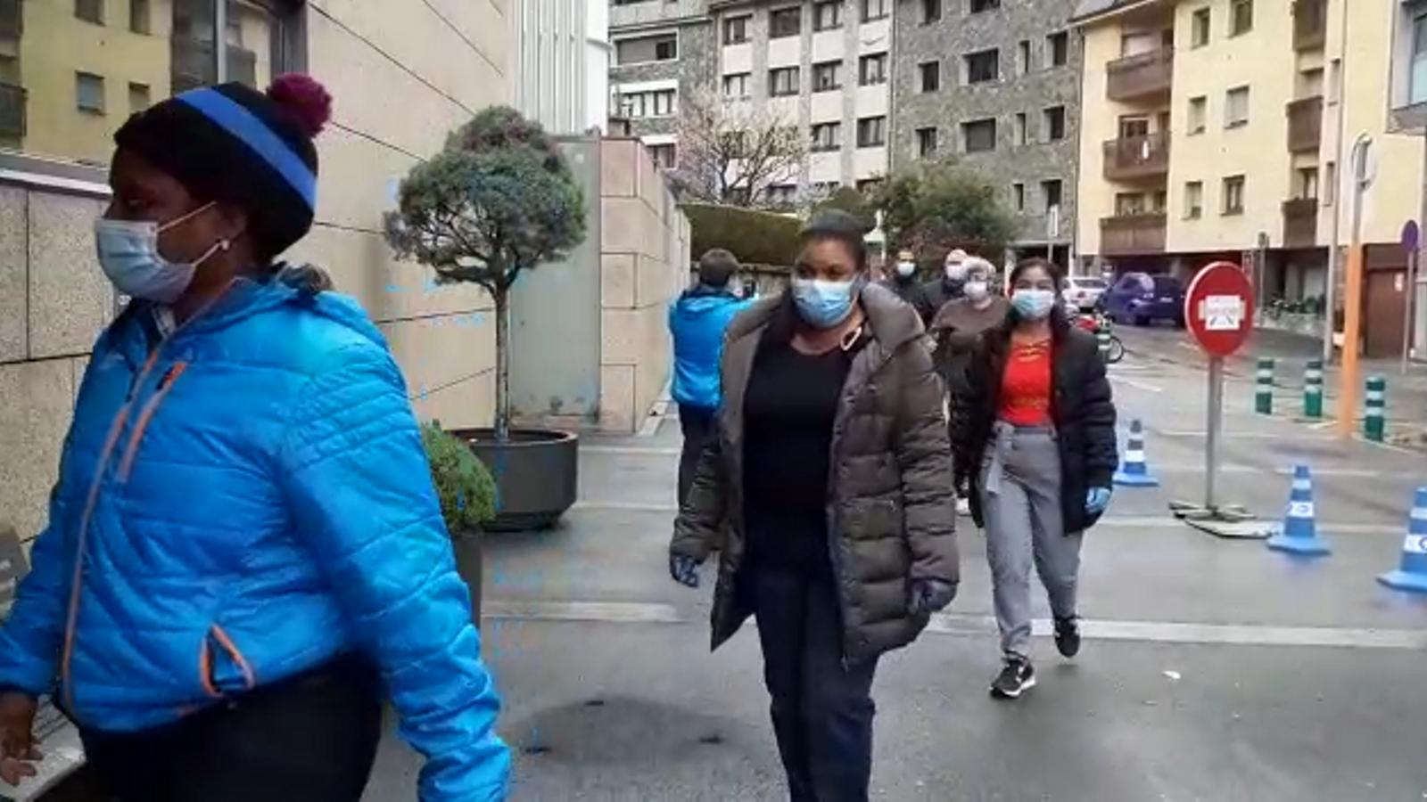 Els professionals cubans s'incorporen a l'hospital Nostra Senyora de Meritxell