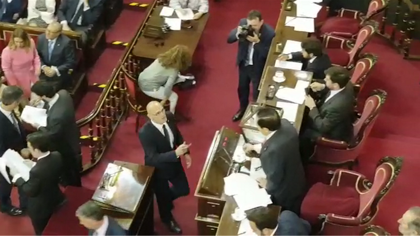 Romeva vota al Senat