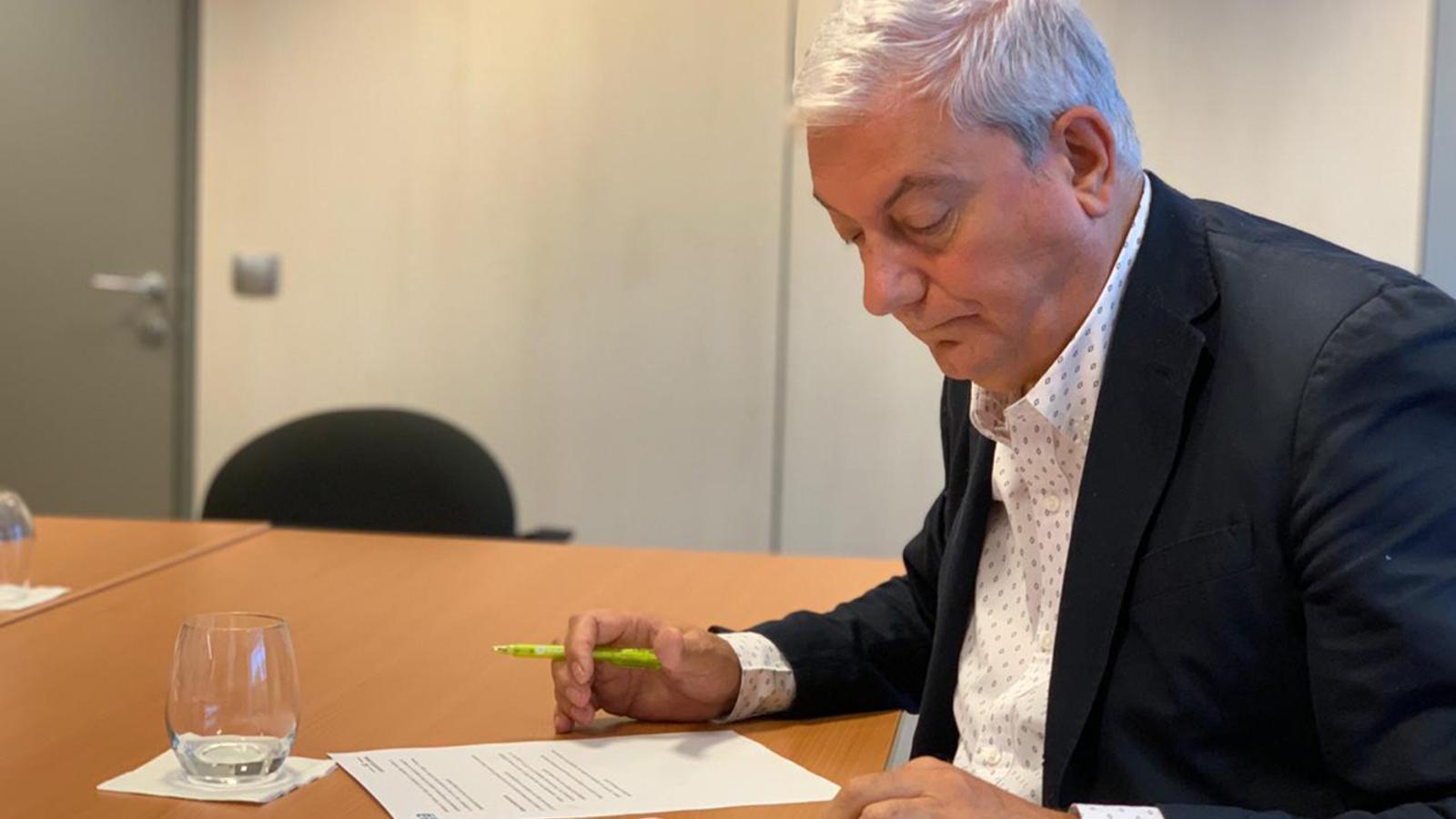 El president de la CEA, Gerard Cadena, en una imatge d'arxiu. / CEA