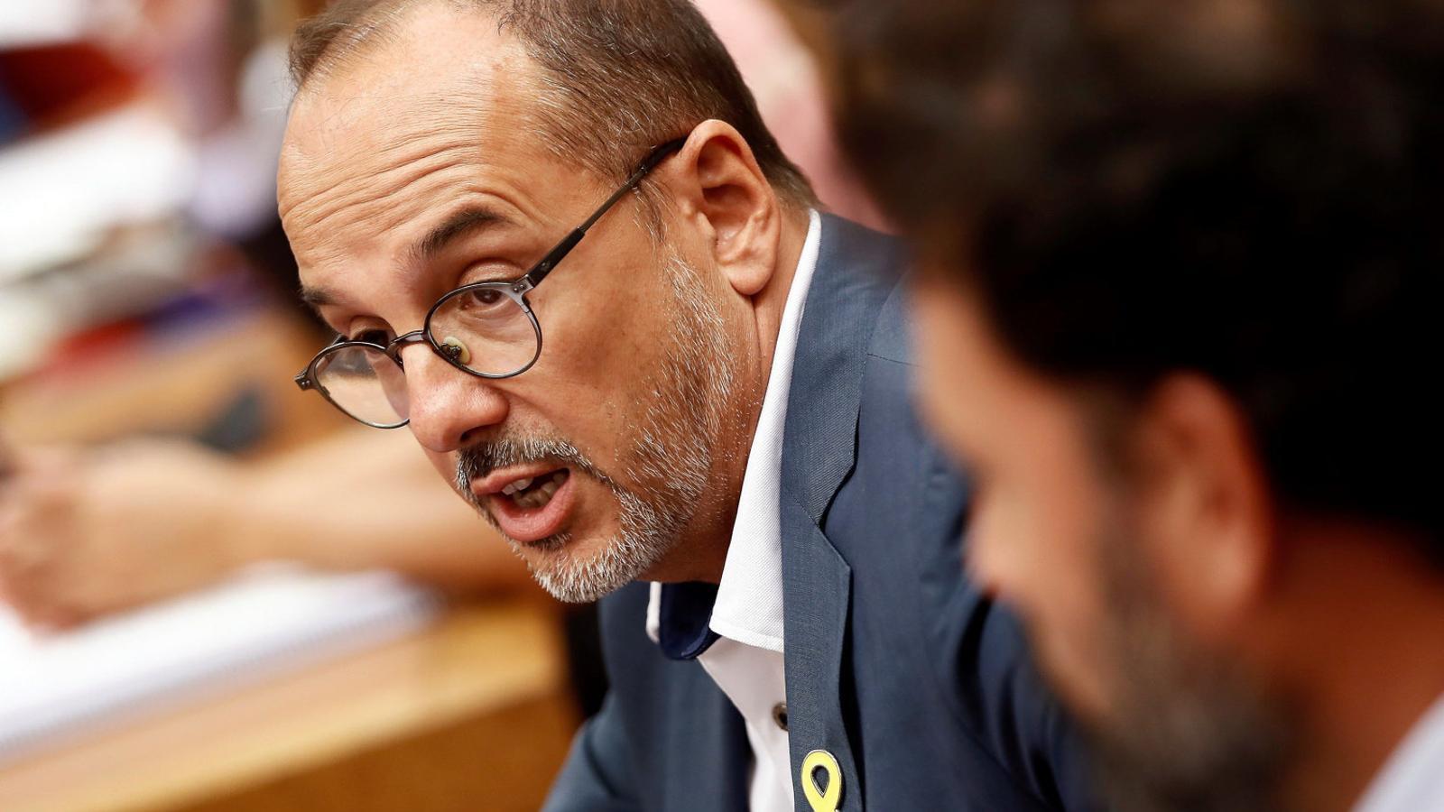 Carles Campuzano, portaveu del PDECat.