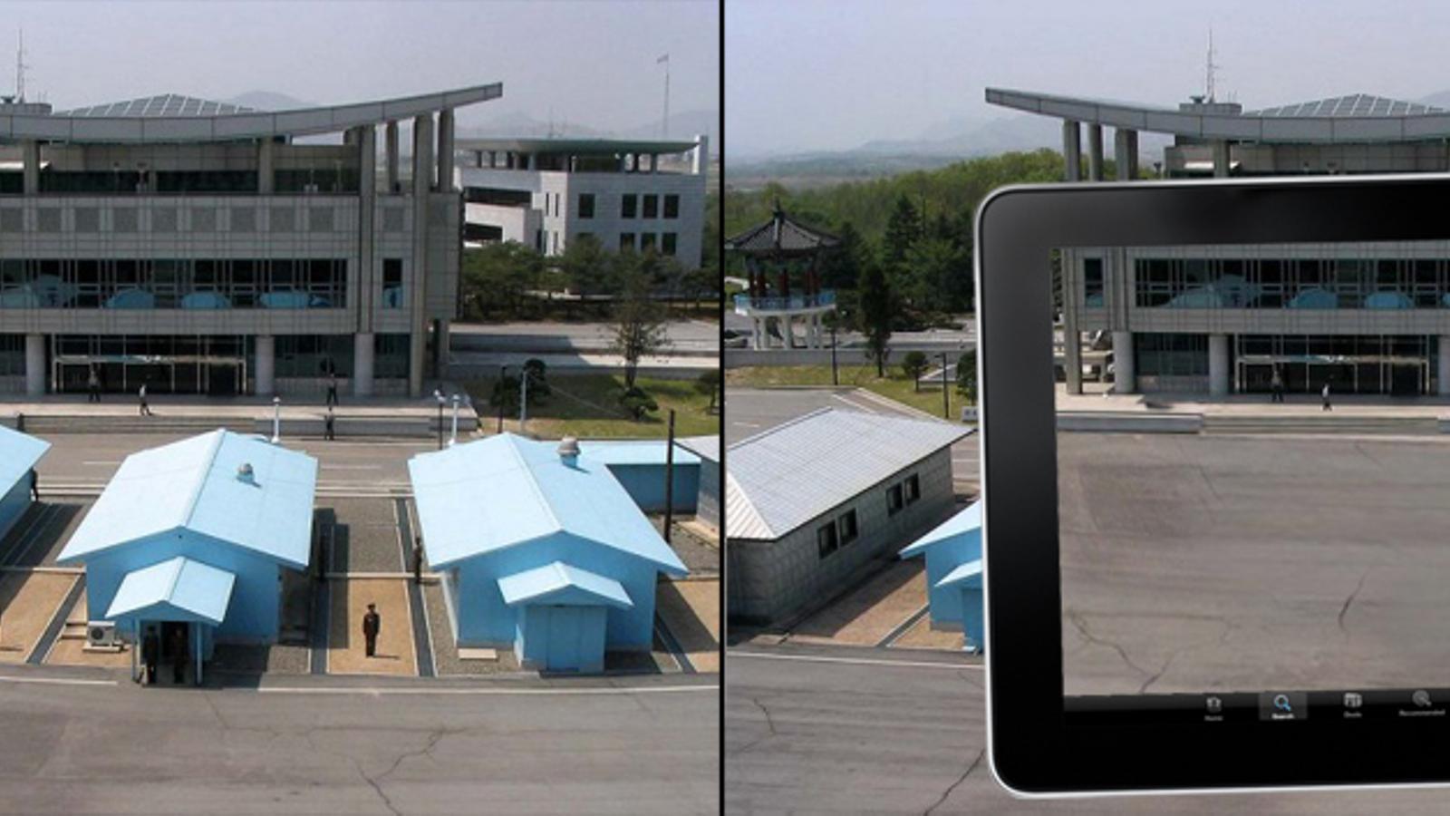 Un projecte de realitat augmentada per impulsar la reunificació de Korea