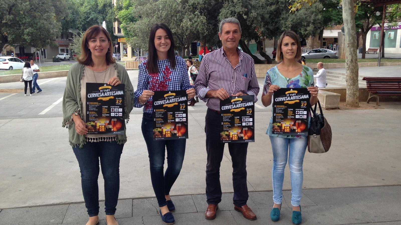 El II Tast de Cerveses Artesanes a Manacor tindrà lloc a la plaça Ramon Llull.