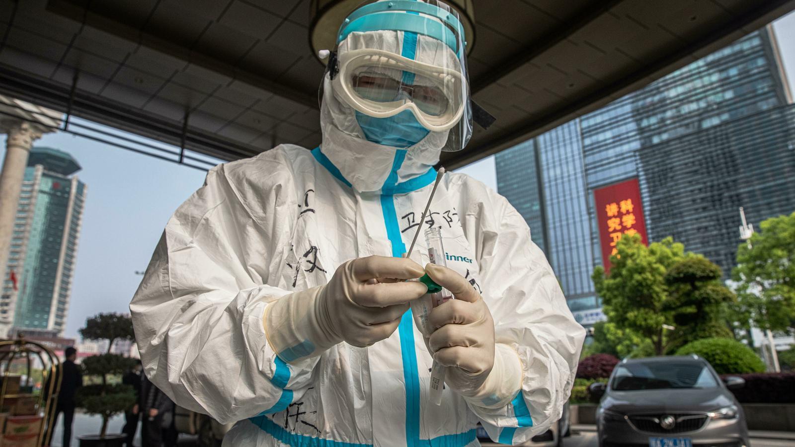 La vida diària a Wuhan després de l'arribada del virus