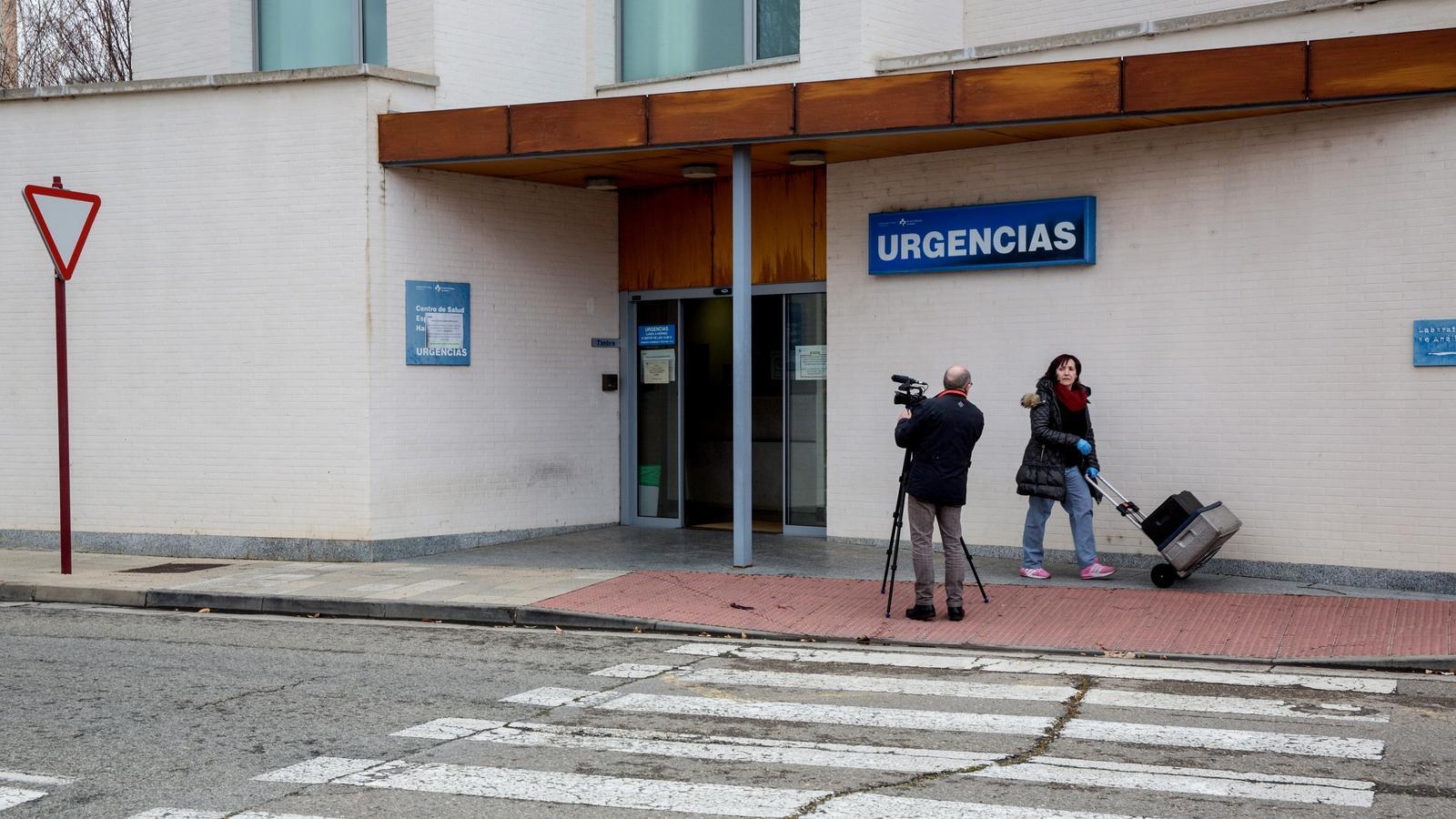 Carrers d'Haro, on es troben 31 del 39 confirmats de La Rioja