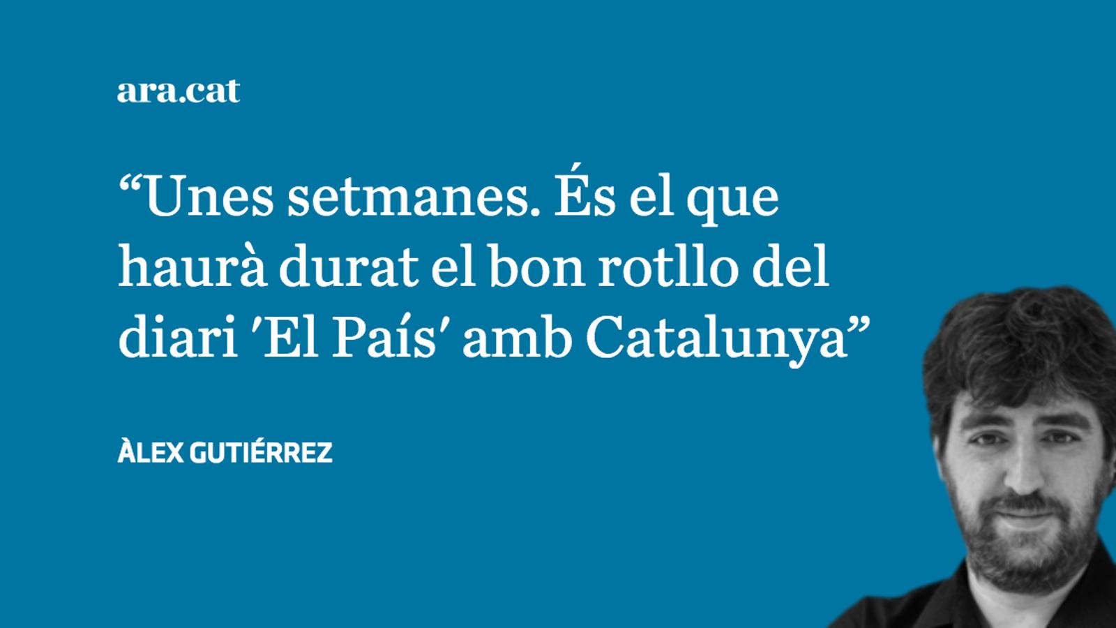 """...I 'El País' va amenaçar amb un nou """"A por ellos"""""""
