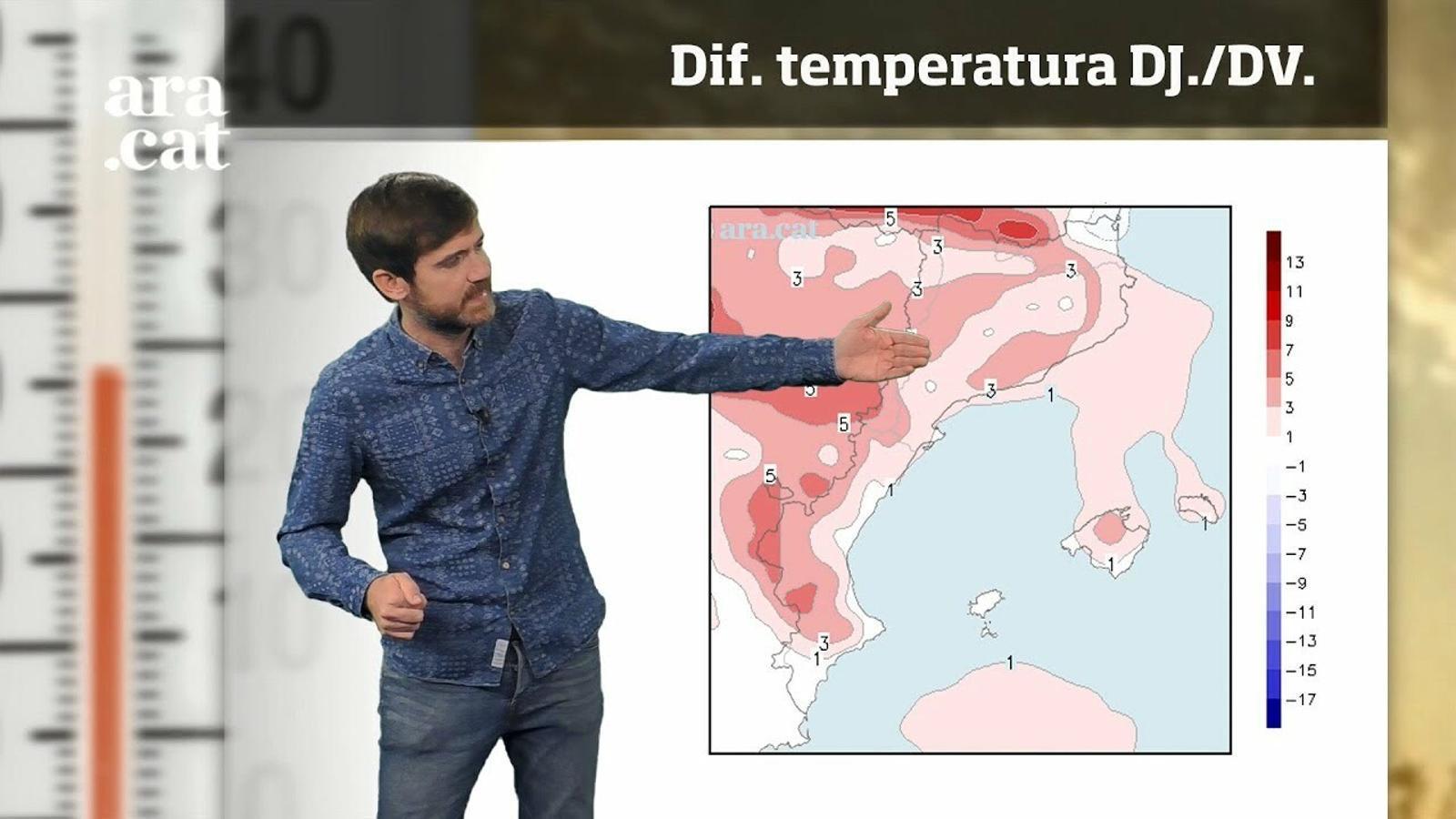Méteo especial: última revifada de la calor abans d'un canvi que ens portarà la tardor