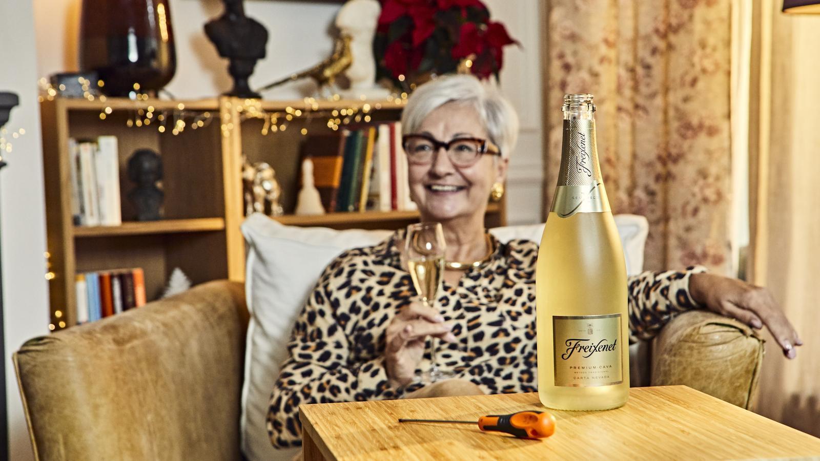 Una imatge de l'anunci de Freixenet per a aquest Nadal.