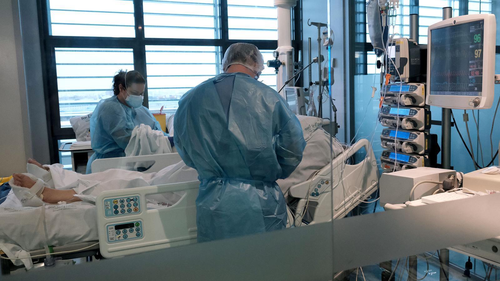 Les Balears tenen ocupats el 60% dels llits d'UCI disponibles per pacients covid-19