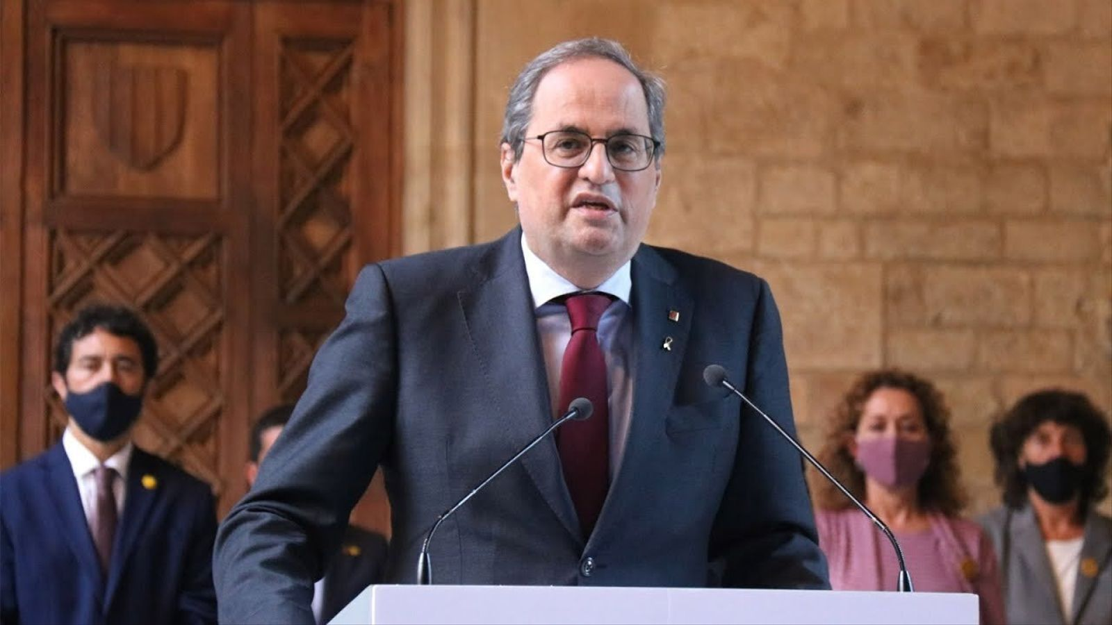 L'anàlisi d'Antoni Bassas: 'El testament polític de Torra: «Empenyeu»'
