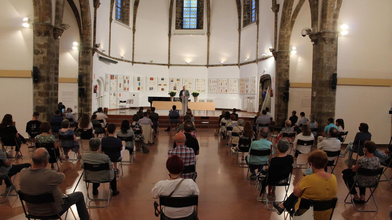 Un moment de l'acte celebrat a la Seu d'Urgell. / AJUNTAMENT DE LA SEU