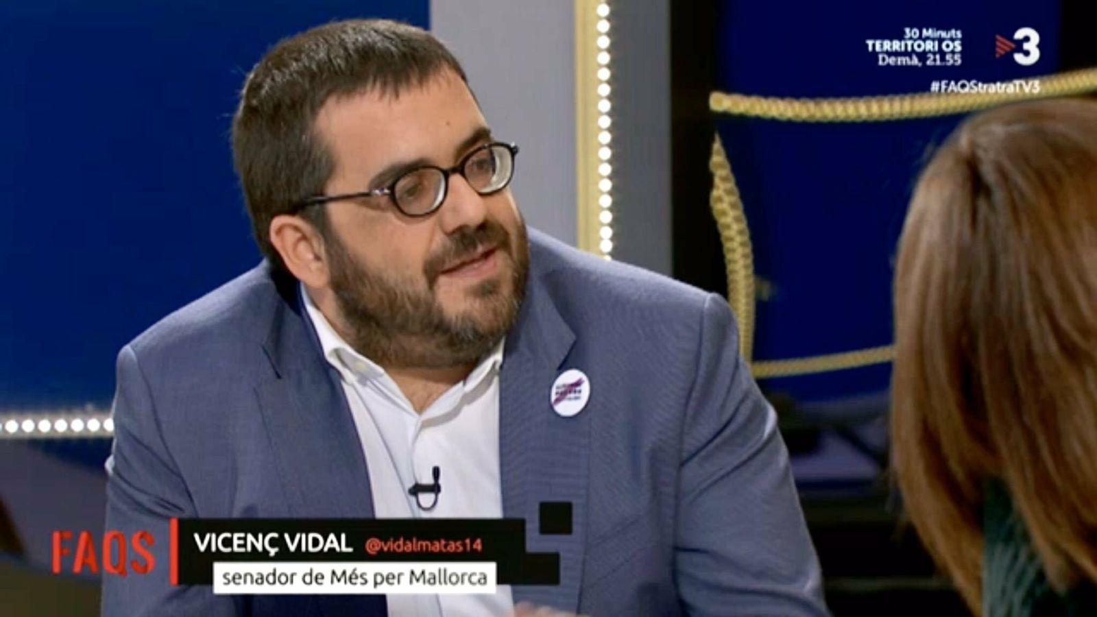 Vicenç Vidal a FAQS de TV3
