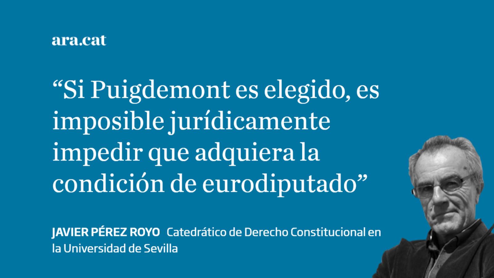Puigdemont y Junqueras, ¿eurodiputados?