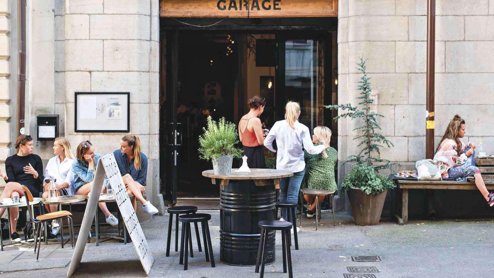 Exterior de la cafeteria Snickarbacken