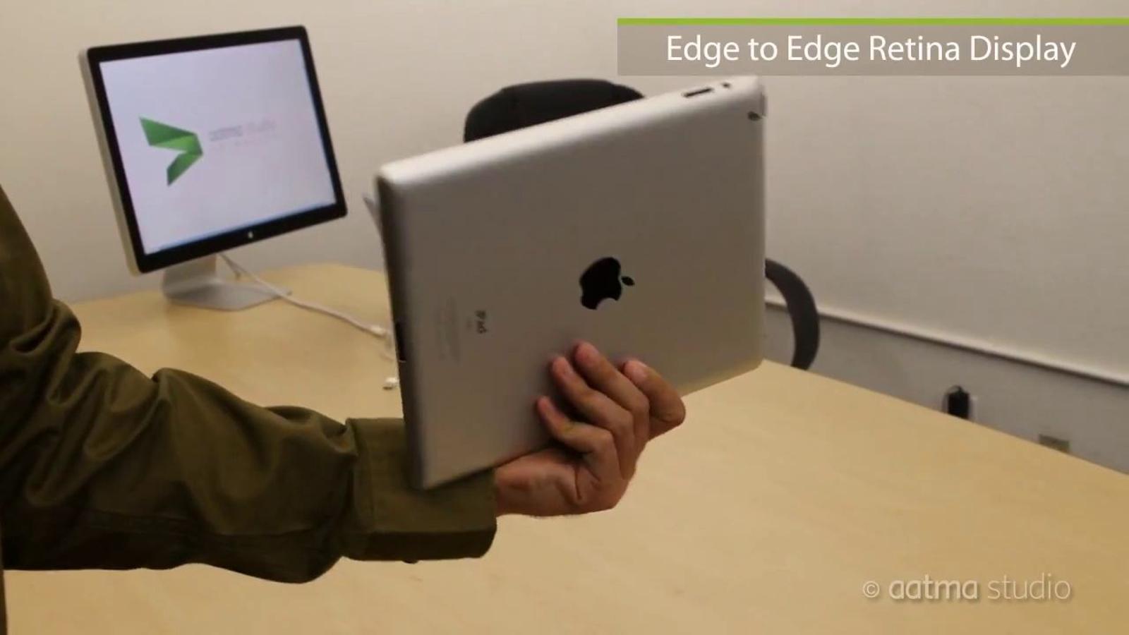 iPad 3 - Prototip conceptual