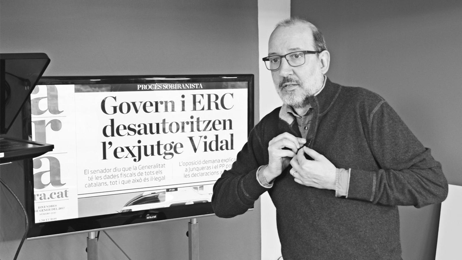 L'anàlisi d'Antoni Bassas: 'El cas Vidal i com comunica el 'sí''