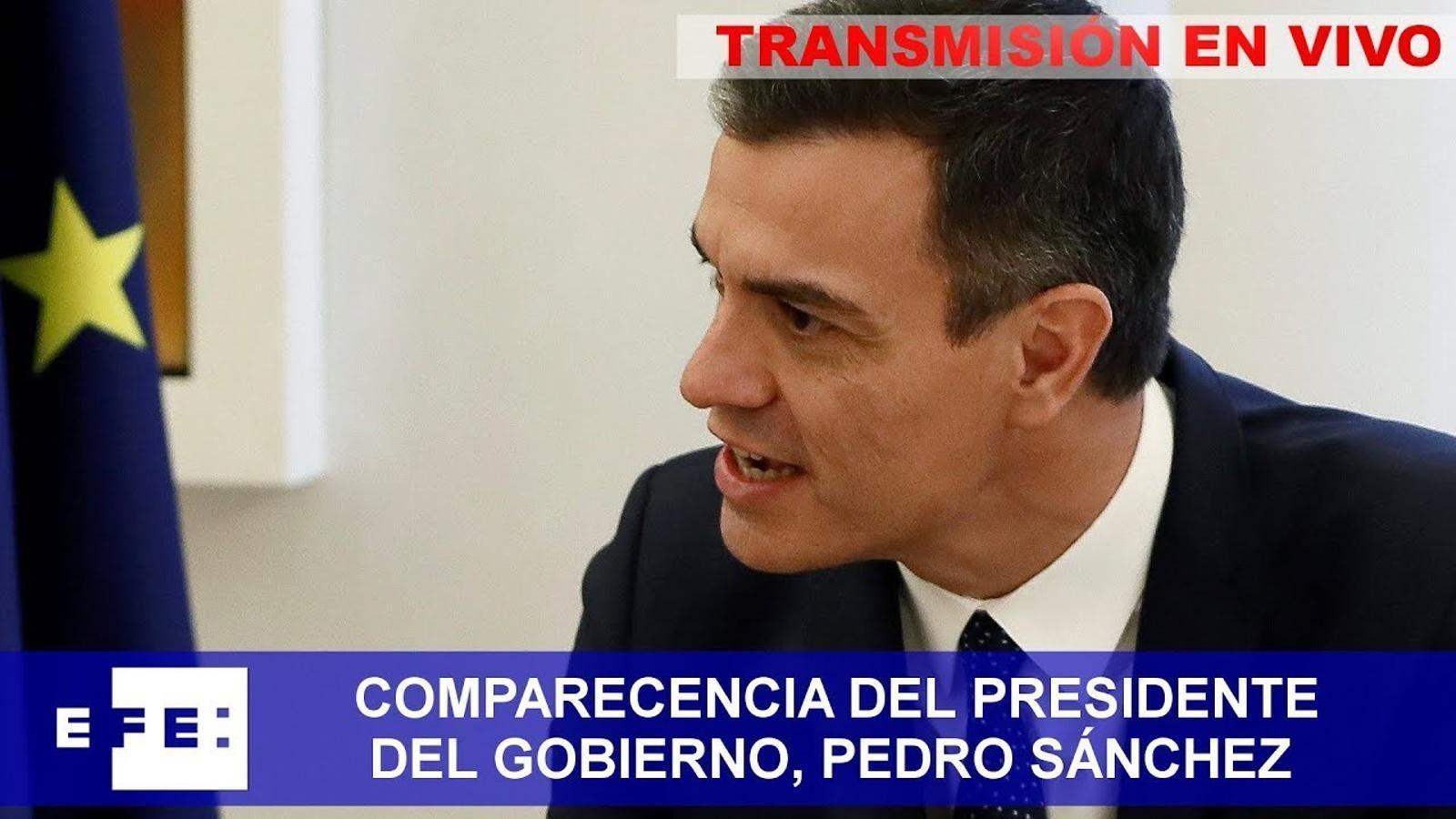 EN DIRECTE: Pedro Sánchez compareix per explicar la seva decisió sobre les eleccions