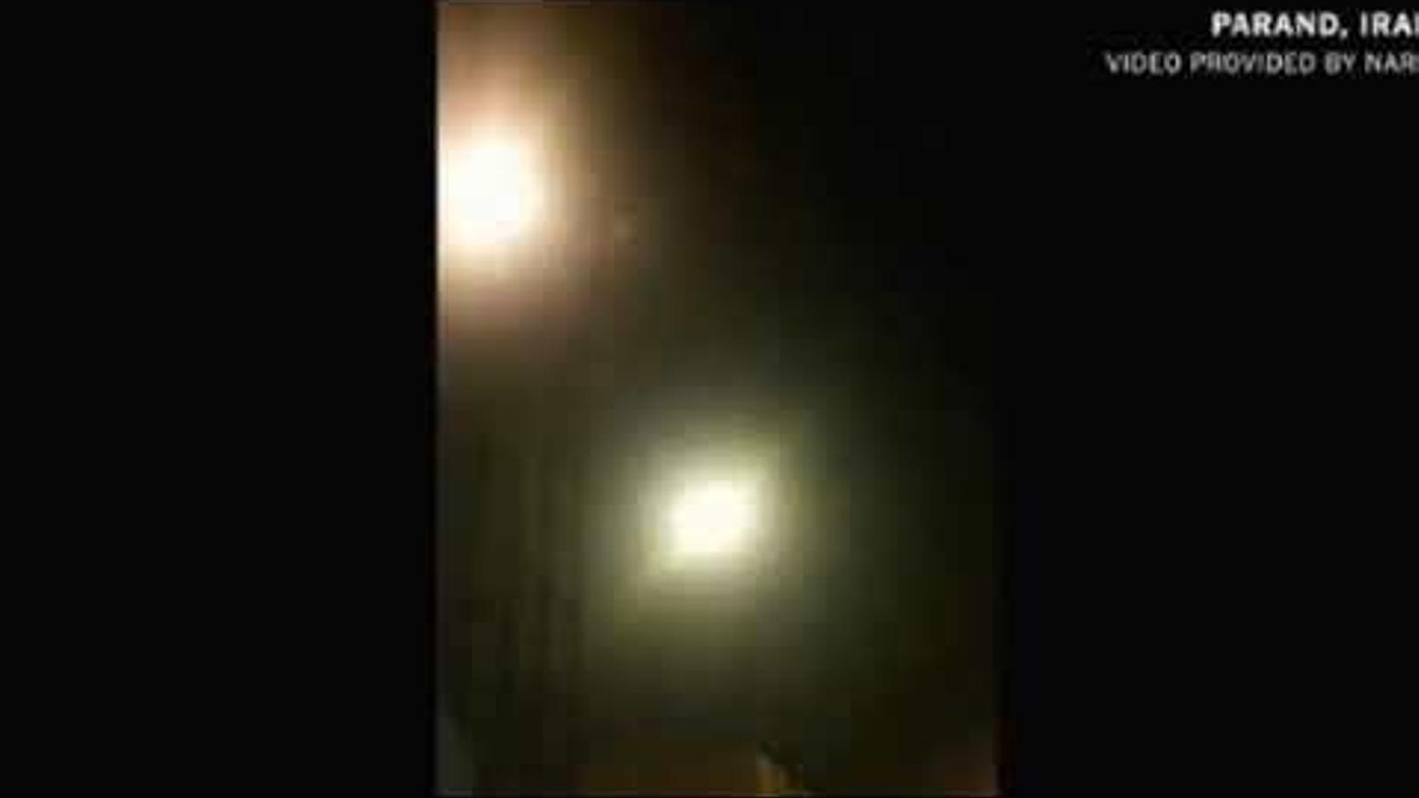 Vídeo en què suposadament el míssil iranià impacta contra el Boeing ucraïnès
