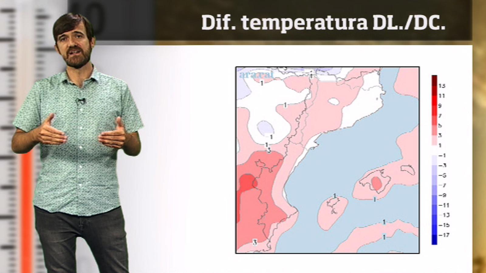La méteo en 1 minut: petit canvi de temps i més calor