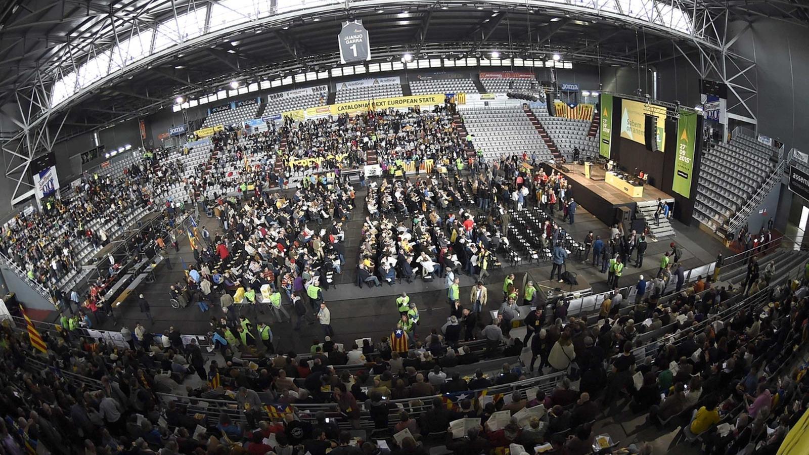 Unes 3.000 persones participen a l'assemblea general de l'ANC / ARA