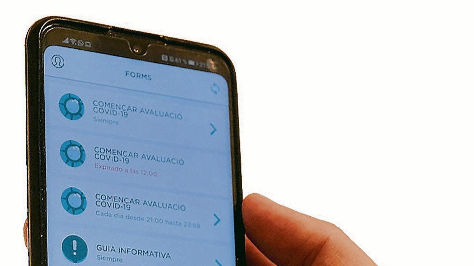 L'aplicació del Govern per al covid-19 exposava les dades personals dels usuaris