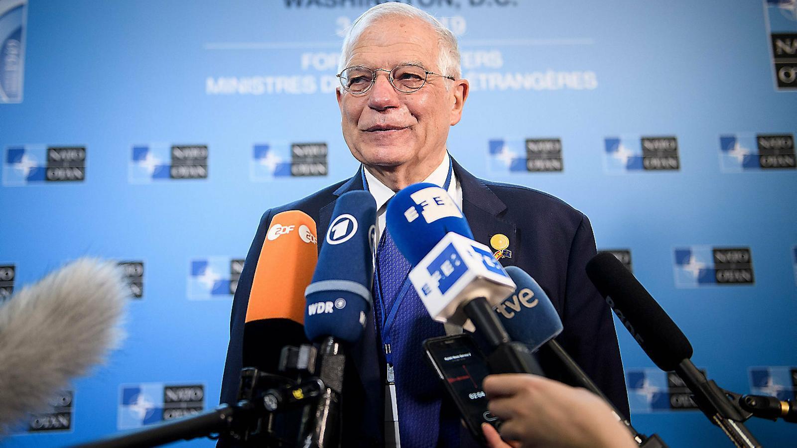 El Govern creu que Borrell donarà volada al Procés a la UE