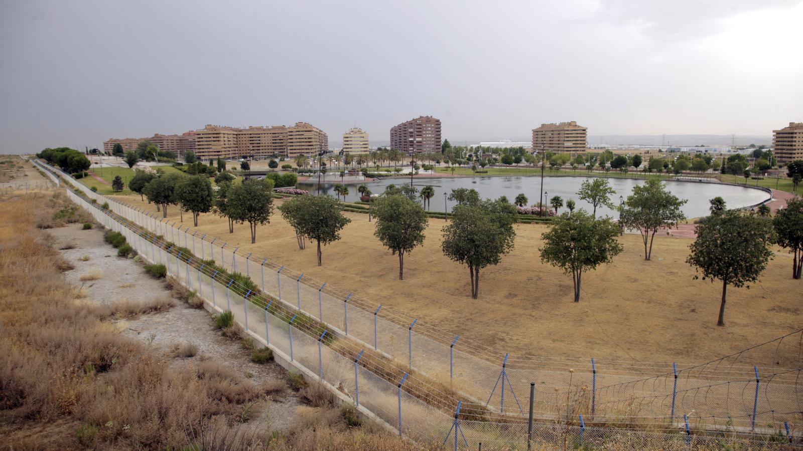 ista general de la zona d'El Quiñón, símbol del boom immobiliari abans de l'esclat de la bombolla