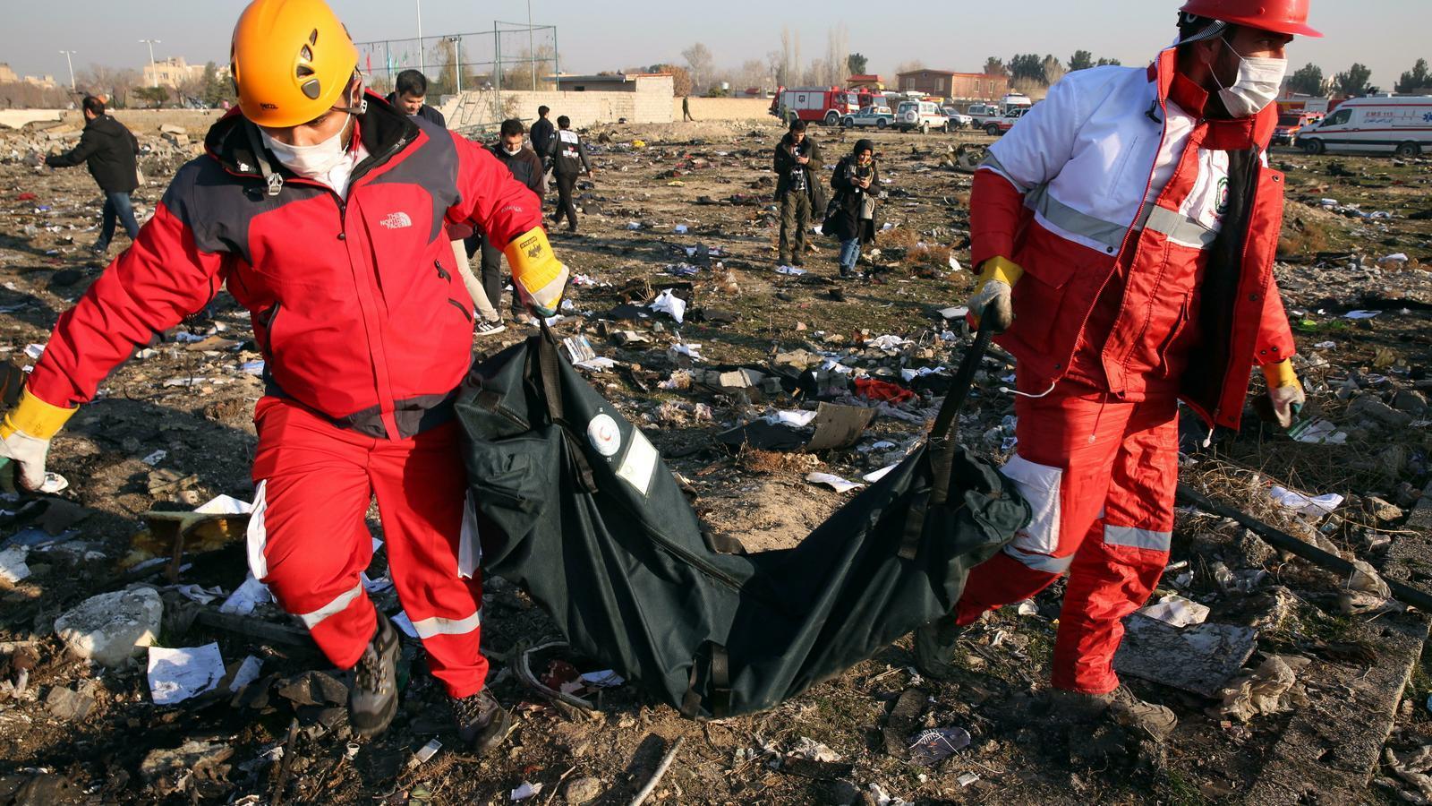 Moren 176 persones a l'estavellar-se un avió a l'Iran