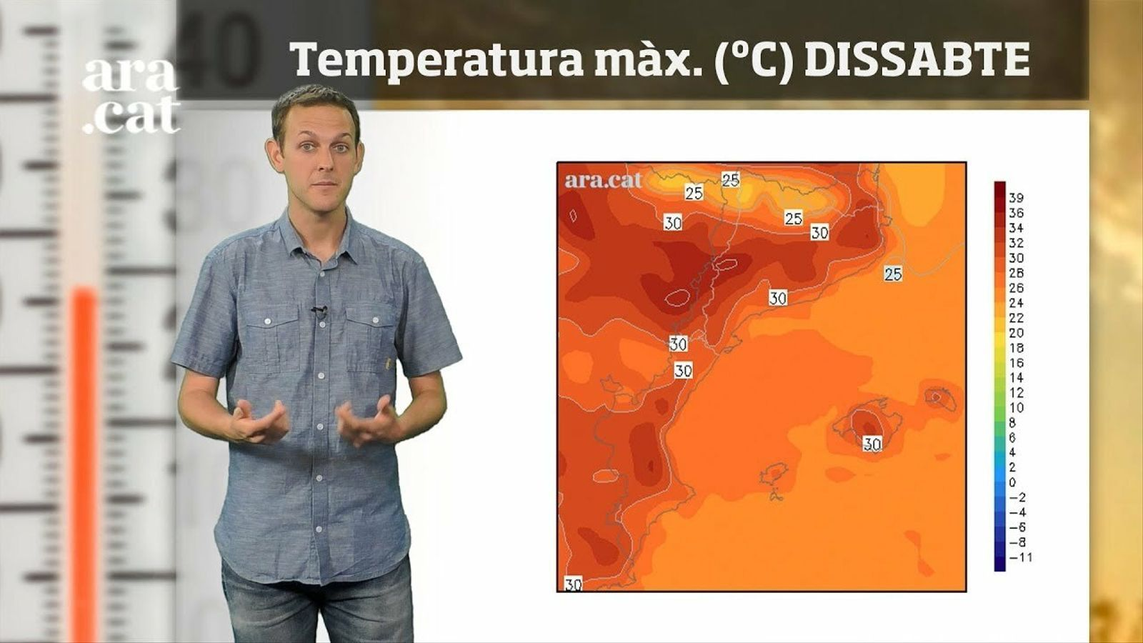 La méteo en 1 minut: encarem la recta final de la setmana amb sol i calor