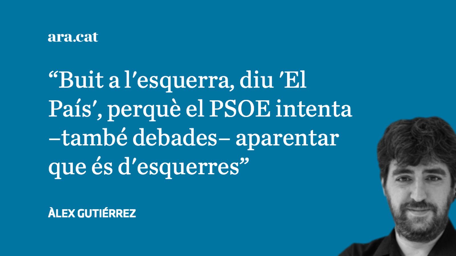 'El País' es pregunta, sense ironia, qui ha matat l'esquerra