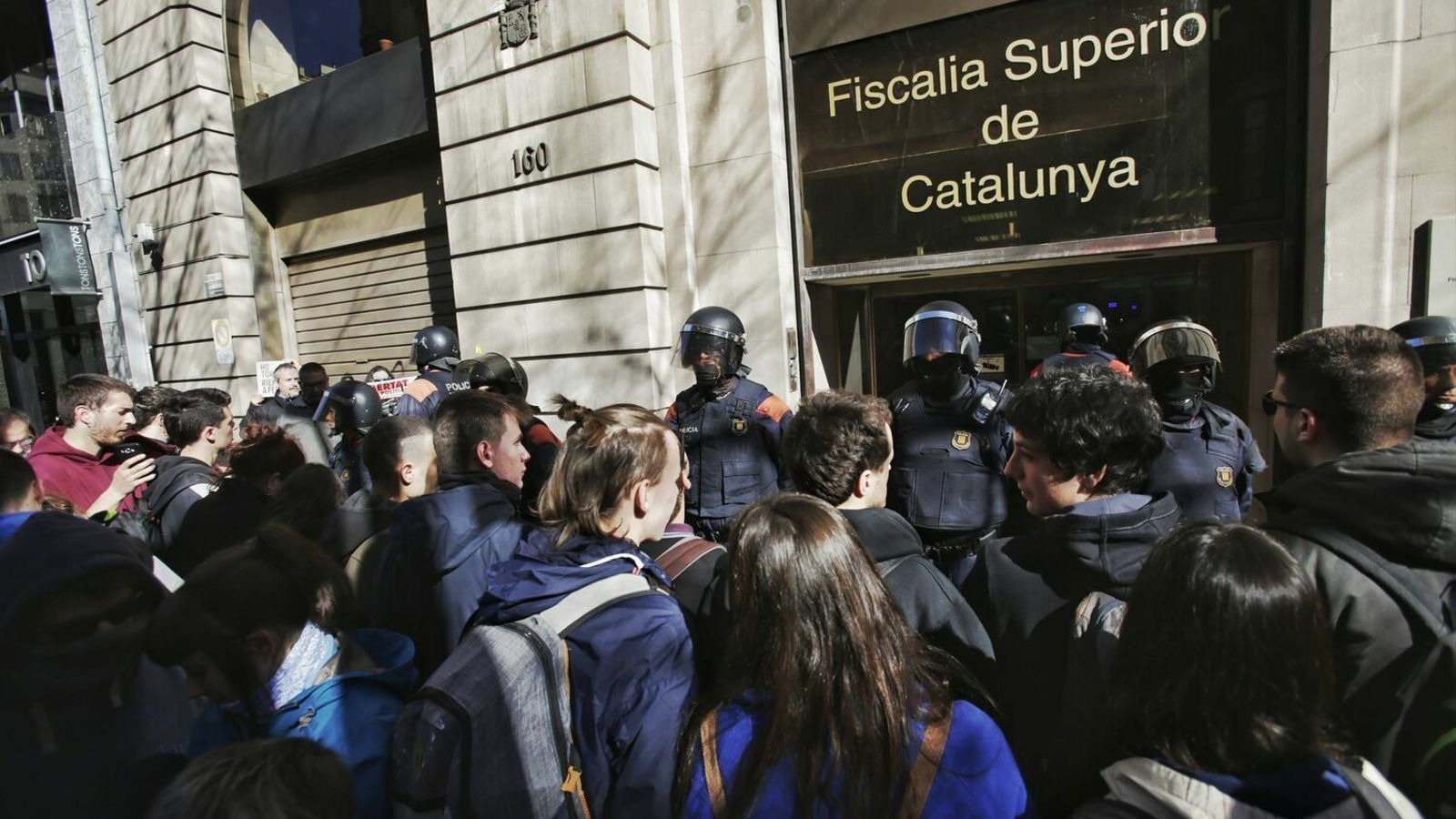 En llibertat els nou activistes independentistes acusats d'organització criminal