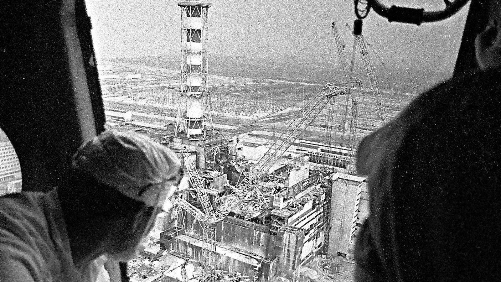 Una de les imatges de la catàstrofe a Txernòbil del guanyador del World Press Photo 1987.