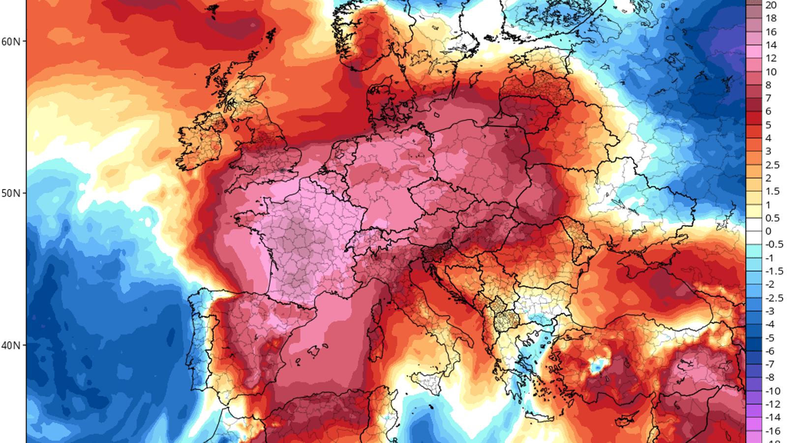 Europa, en alerta per l'onada de calor